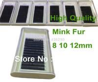 mink eyelashes - Quality Pure Mink Lashes Handmade Real Mink Eyelash Extension Grafted eyelashes Natural Curl Makeup Salon