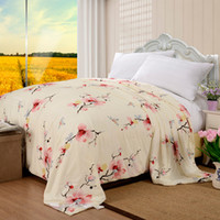 Wholesale 1KG Mulberry Silk Quilts Cotton Cover Handmade Bed Comforter x210cm x220cm Summer