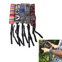 Wholesale Vintage Style Canvas Camera Shoulder Neck Strap Belt for Nikon Canon Sony DSLR Camera D1229