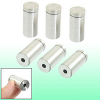 Wholesale 6 Pieces mm x mm Stainless Steel Frameless Standoff Clamp Hardware for Glass