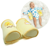 Wholesale 2014 New Arrive Baby Toddler Safe Cotton Anti Roll Shape Pillow baby pillow anti rollover Sleep Head Positioner Anti rollover