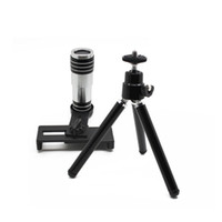 Wholesale Universal Camera Black Telescope Camera View Angle x Zoom Optical Lens For Universal Phone Lens Holder with Retail Package
