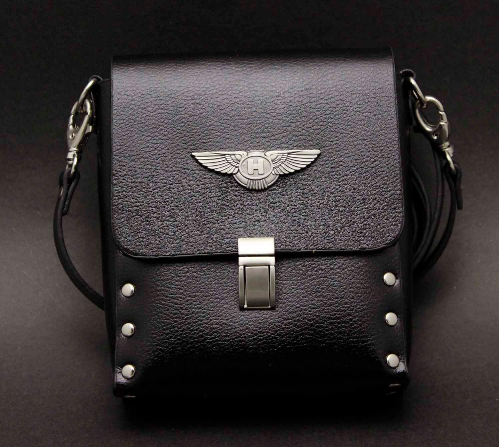 Wholesale-Man Angel Wings Motorcycle Messenger Shoulder Bag Biker Punk    X Men Angel Wings Scene