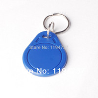 Wholesale RFID Khz Proximity Rfid Id Card Key Tags Keyfobs Keychain ID Token
