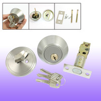 Wholesale Home Door Locking Security Single Cylinder Deadbolt Lock Silver Tone