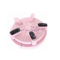Wholesale Pink Sponge Nail Art Tips Stand Display Nail Working Table Fashion Manicure Salon Tool