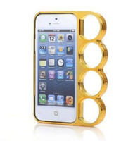 brass knuckles rings - Lord of The Rings Brass Knuckles Designed D Aluminum Self protective Bumper Case Cover for Apple Iphone Inch