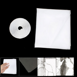 Insect Fly Mosquito DIY Porte Net Netting Mesh Screen White à partir de fabricateur