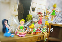 Wholesale sets LotHigh Quality PVC set Tinkerbell Fairy Adorable tinker bell Figures