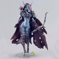 Wholesale World of Warcraft Darkness Ranger Lady Sylvanas Windrunner quot Resin Action Figure Collection Model WOW