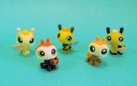 Wholesale Littlest Pet Shop Bumble Bee amp Ladybug Lady bugs Set Cute