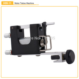 Wholesale New Pro Professional H06 Rotary Tattoo Machine Aluminum Alloy Tattoo Motor Gun for Shader Liner Black Silver