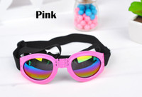 Wholesale Fashion dog grooming glasses for dogs goggles pet grooming sunglasses dog accessories Protection from wind and rain multicolor