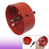 Wholesale 10mm Triangle Shank Twist Drilling Bit mm Diameter Hole Saw Red