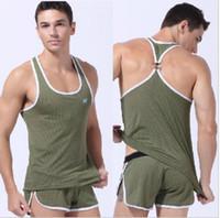 Wholesale Sports vest summer tank tops for sportsman men shirts gym breathable Male mesh undershirt sex Basketball run sleeveless clothing