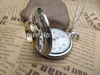 Wholesale Lord of the rings pocket watch One Ring Lettering pocket watch steampunk jewelry antique necklace vine style gift idea