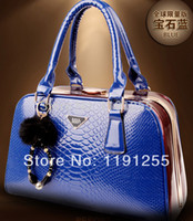 authentic crocodile handbags - Vogue of new fund of crocodile grain handbag authentic bag bride fashion lady handbags