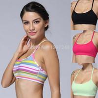 Wholesale Yoga bra sports bras energy vest active tanks Lady Sport yoga tops Sport Wear size