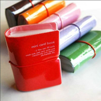 Wholesale Unisex PVC Credit Card amp ID Holders Colors Elastic Design Fashion Style Travel Business Card Covers