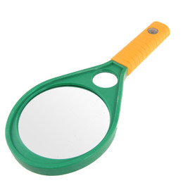 Wholesale 90mm X X Plastic Handle Double Glasses Magnifying Magnifier for Reading