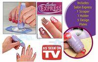 Cheap Wholesale-Free shipping 2set New DIY Design Kit Professional Nail Art Stamp Stamping Polish Nail Decoration