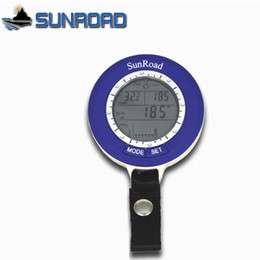 Wholesale Sunroad SR204 Mini LCD Digital Fishing Barometer Altimeter Thermometer Waterproof Multi function H13727
