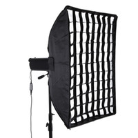 flash light diffuser - New cm quot quot Softbox Diffuser with Honeycomb Grid Bowens Bracket Holder for Speedlite Flash Light D1634