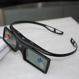 Wholesale G15 DLP D Active Shutter Glasses Hz for LG BENQ ACER SHARP DLP Link D TV Projector D Glasses passive V849