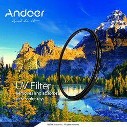 Wholesale Andoer mm UV Ultra Violet Filter Lens Protector for Canon Nikon DSLR Camera D1588