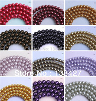 Wholesale Newest mm String High Quality Czech Glass Pearl Round Loose Beads For Stylish Jewelry Making