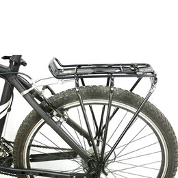 Wholesale Aluminum Alloy Mountain Road MTB Cycling Bicycle Carrier Rear Luggage Rack Shelf Bracket for Disc Brake V brake Bike