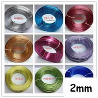 Wholesale Aluminum wire mm Aluminum jewelry wire Aluminum craft wire g around meters MS1154