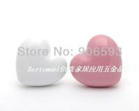 Wholesale 100pcs Porcelain love heart cartoon cabinet knob porcelain handle porcelain knob