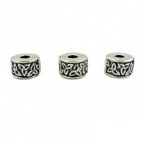 Wholesale Bead Clip Lock Mixed Tibetan Silver Plate Stopper Beads Charms Fit European Bracelet PA TDmix03