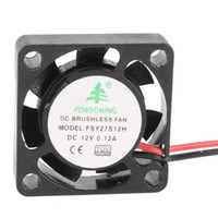 brushless dc fan 12v - 25mm x mm x mm DC V A RPM Pin Brushless Mini Cooling Fan
