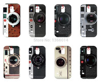 Wholesale Retro vintage Camera Leica M9 case cover new arrival PC hard for Samsung Galaxy S5