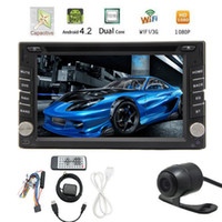 autoradio double din gps - NEWEST Android DUAL CPU Double Din Car GPS Navigation Autoradio DVD Player Stereo BT RDS CAPACITIVE Touch PC Video TV CAM Car DVD Vide