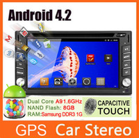 car dvd player gps and bluetooth - 6 INCH din Android Car DVD Player GPS Navigation Universal Car Radio Stereo Capacitive Touch and TPMS Bult in Microphone