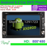 android dvd app - NEW Android Car DVD PC Player Din Wifi GPS Navigation Car Stereo Radio Capacity Headunit Bluetooth FM APP RDS MP3 D MAP ANTENNA