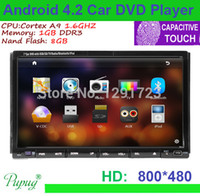 audio vid - Android Din Inch Car DVD Player GPS Radio BT Video D UI TV Dual Core GPS Map Stereo Car PC Audio Video Headunit Indash Car DVD Vid