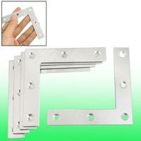 corner bracket - 5 Angle Plate Corner Brace Flat L Shape Repair Bracket mm x mm