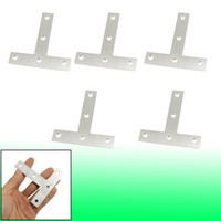 corner bracket - 5 Angle Plate Corner Brace Flat T Shape Repair Bracket mm x mm