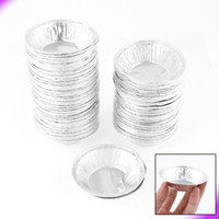 Wholesale 250 Circular Egg Tart Tins Cake Cups for Kitchen Baking