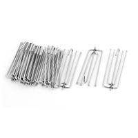 Wholesale 15 quot Metal Forks Draped Curtain Pleat Prong Hooks