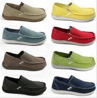 Wholesale Size classical men s canvas shoes sneaker