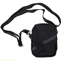 Wholesale Top quality Promotion Multifunction Mini Outdoor Shoulder Bag Sundries Bag Black