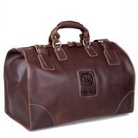 Wholesale Tiding cattle crazy horse leather man bag large capacity travel luggage bag travel bag portable