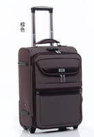 Wholesale women amp men trolley luggage travel bag hard case inch black gray and red color