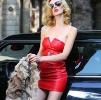 Платье красное латекс фото