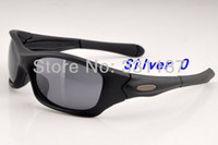 Wholesale new Men s Sunglasses Fashion Outdoor Sports Eyewear Pit Bull polarized lens women Sport Sunglass